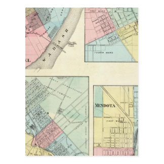 St. Louis del este, Mt Carmel, Jerseyville y Postal