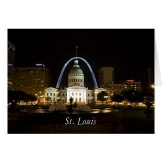 St. Louis Tarjeta De Felicitación