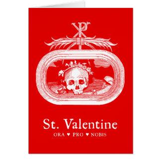 St Tarjeta de felicitación de la tarjeta del día
