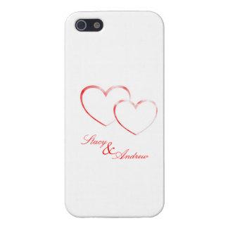 Stacy y Andrew - dos corazones en amor - lo modifi iPhone 5 Carcasas