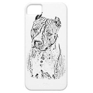Staffordshire Terrier americano Funda Para iPhone SE/5/5s