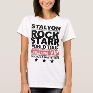 STALYON JESUS VIP ROCK STARR CAMISETA