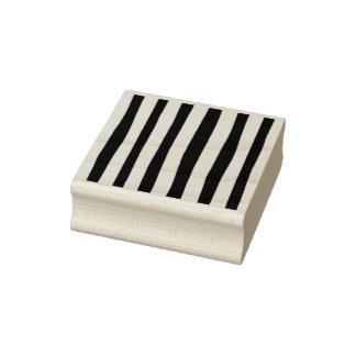 Stamp_ de goma Striped-_Multi artsy colorea el Sello De Caucho