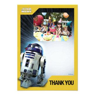 Star Wars R2-D2 le agradece plantilla de la foto Comunicados Personales
