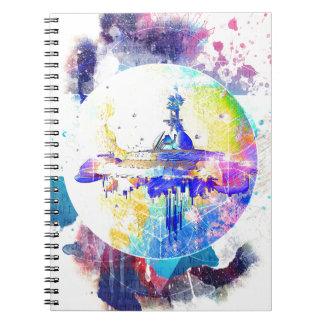 Starships Phate-Abandonado Cuaderno