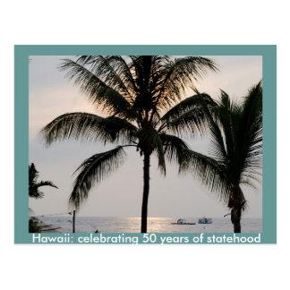 Statehood hawaiano postal