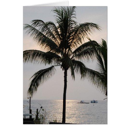 Statehood hawaiano tarjeta de felicitación