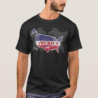States nombrado Blue Eagle calvo T-Shirt-2 de Camiseta