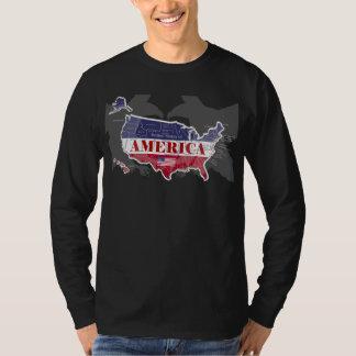 States nombrado Blue Eagle calvo T-Shirt-3 de Camiseta