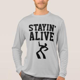 STAYIN VIVO, camisetas RETRAS del VINTAGE