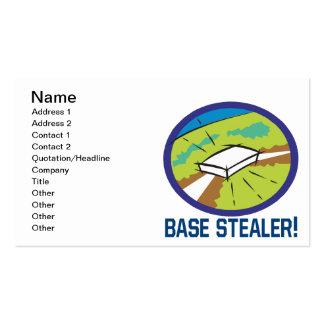 Stealer bajo tarjetas de visita