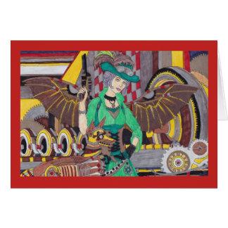 Steampunk 1 tarjeta
