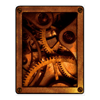 Steampunk adapta las postales del mecanismo