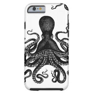 Steampunk Kraken duro - pulpo del Victorian Funda De iPhone 6 Tough