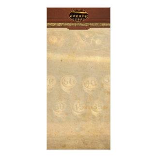 Steampunk - mecanismo de la remuneración diseños de tarjetas publicitarias