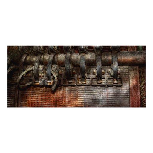 Steampunk - motorizado tarjeta publicitaria personalizada
