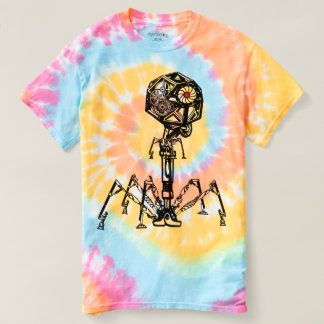 Steampunk_Phage en color vivo Camiseta