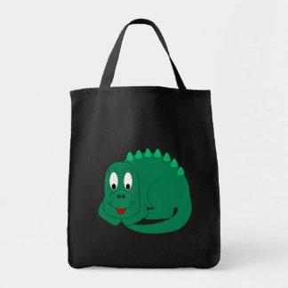 Stegosaurus lindo bolsa tela para la compra