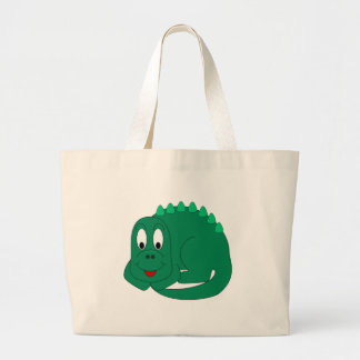 Stegosaurus lindo bolsa tela grande