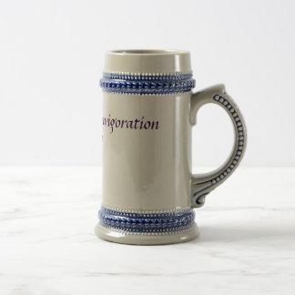 Stein antiguo del fortalecimiento jarra de cerveza