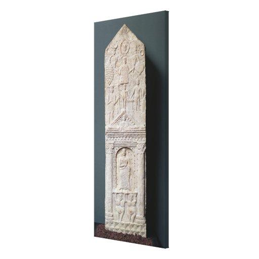 Stela votivo dedicado a Saturn Lona Estirada Galerías