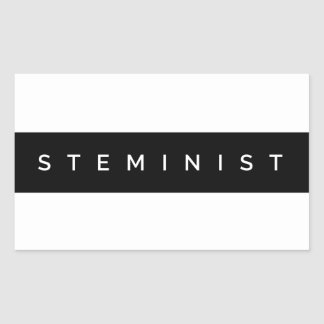 Steminist Pegatina Rectangular