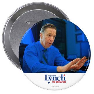 Stephen Lynch para el senado Chapa Redonda De 10 Cm