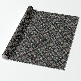 Stephoidea en negro papel de regalo