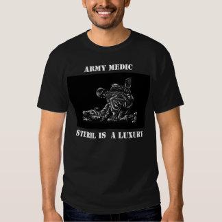 Steril es un lujo camisetas