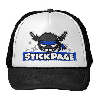 StickPage Ninja Gorros Bordados
