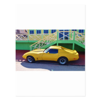 Stingray. clásico del Corvette Postal