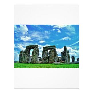 Stonehenge Flyer Personalizado