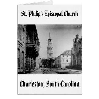 stp, la iglesia episcopal de St Philip Tarjeta