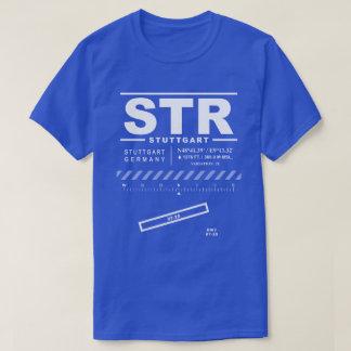 STR camiseta del aeropuerto de Stuttgart