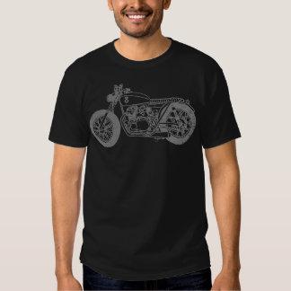 StreetTracker Nº8 Negra. Camisetas