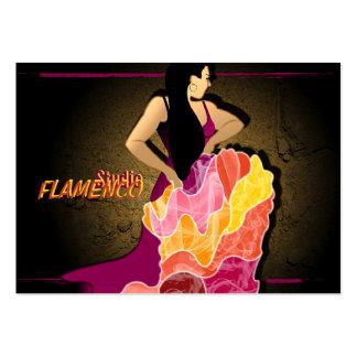 StudioFlamenco - negocio, tarjeta del horario Plantillas De Tarjetas De Visita