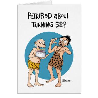 Su 52.o cumpleaños tarjeta de felicitación