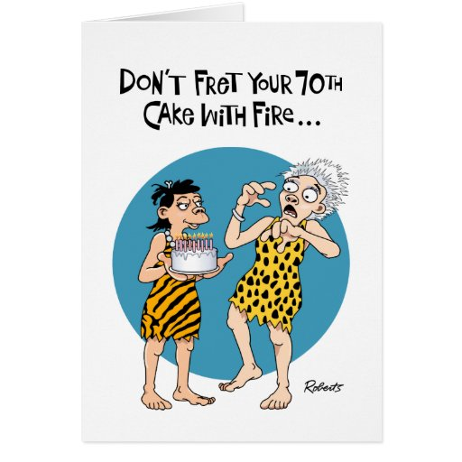 Su 70.o cumpleaños tarjeta