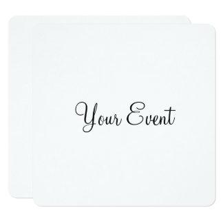 Su acontecimiento invitación 13,3 cm x 13,3cm