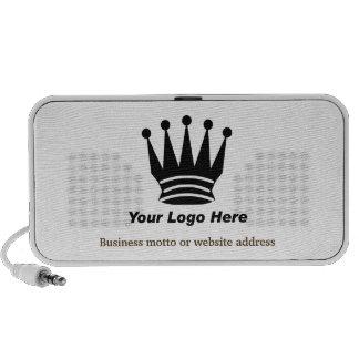 Su altavoz portátil del personalizado del logotipo