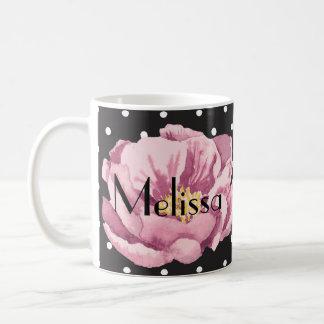 Su amapola rosada conocida taza de café