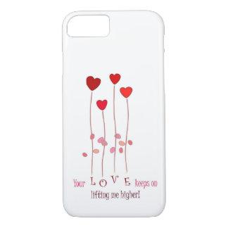 Su amor guarda en la elevación de mí caso del funda iPhone 7