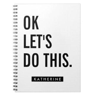 Su AUTORIZACIÓN conocida del   nos dejó hacer esto Cuaderno