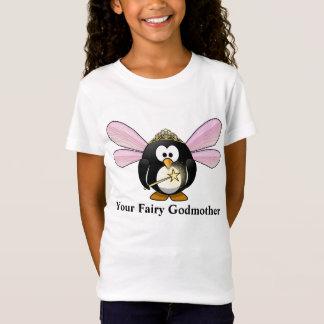 Su camiseta de la hada del pingüino del dibujo