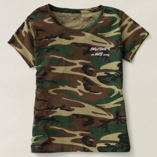 SU camiseta del camo del SOLDADO