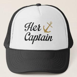 Su capitán gorra de camionero