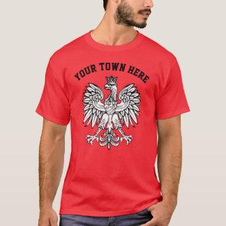 Su ciudad aquí pule la camiseta del orgullo