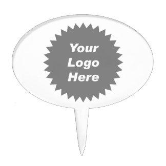 Su del negocio del logotipo promo aquí figura para tarta