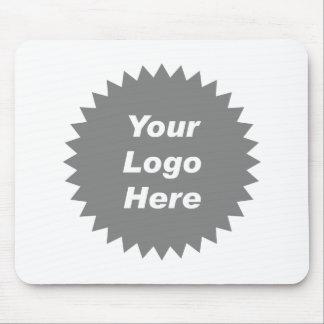 Su del negocio del logotipo promo aquí alfombrilla de ratón