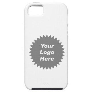 Su del negocio del logotipo promo aquí iPhone 5 Case-Mate cárcasa